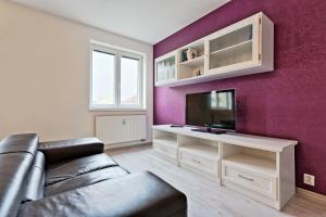 A seating area at JR daily Flat Rental