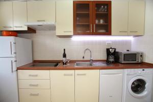 Kuchyň nebo kuchyňský kout v ubytování Apartment Biočić