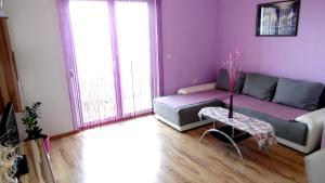 Posezení v ubytování Sara Apartments