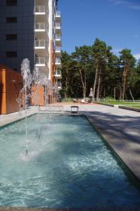 The swimming pool at or near Apartments LuxView