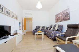 Area soggiorno di Via Veneto Smart Apartment