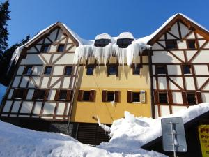 Apartmán Javor v zimě