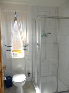 Ein Badezimmer in der Unterkunft Ferienhaus Baller
