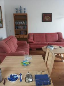 A seating area at 't Uutrusthuus