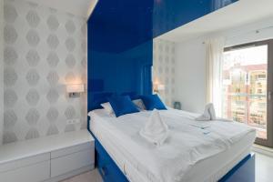 Lova arba lovos apgyvendinimo įstaigoje Apartamenty Apartinfo Waterlane