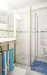 Ein Badezimmer in der Unterkunft Haus Hilgarth