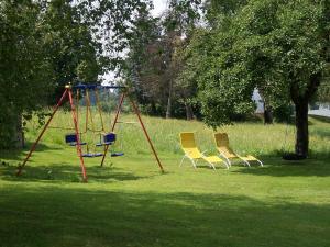 Ein Kinderspielbereich in der Unterkunft Ferienwohnung Hilde Hiemer