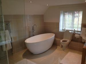 A bathroom at The Cottages Scampton
