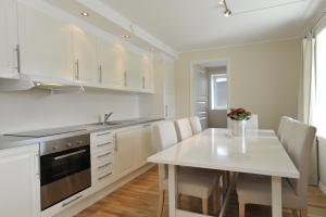 Een keuken of kitchenette bij Geilo Gaarden