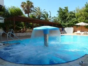 The swimming pool at or near Sitia Bay