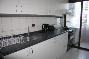 Cuisine ou kitchenette dans l'établissement Arrecife Costanera Sur Apartments