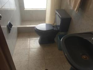 Un baño de Aparthotel Residencial Gina