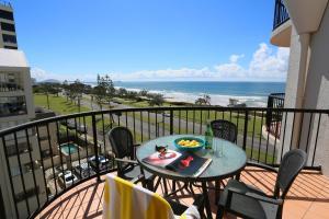 A balcony or terrace at Ocean Boulevard