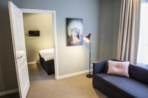 אזור ישיבה ב-Apartments Prinsengracht