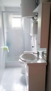 Ein Badezimmer in der Unterkunft Apartment Twins