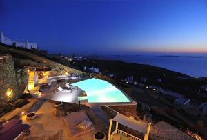 A view of the pool at Mermaid Luxury Villas - Adella or nearby