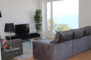 Area soggiorno di OceanView Oporto Foz