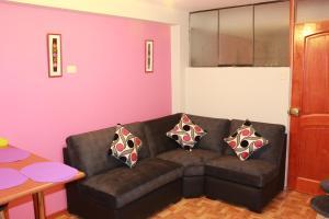 Zona de estar de Cusco Apartment
