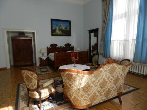 Гостиная зона в Pałac Frączków