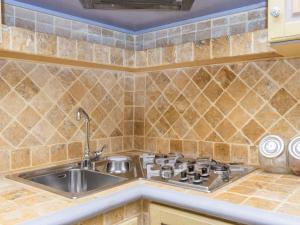Una cocina o zona de cocina en Home With Love Trastevere