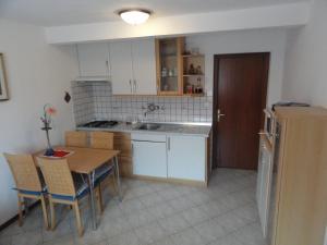 Kuhinja oz. manjša kuhinja v nastanitvi Apartma Skubin