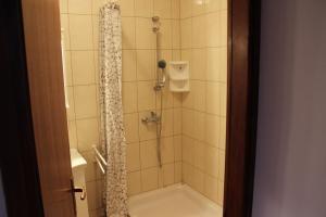 Koupelna v ubytování Apartments Marszalek
