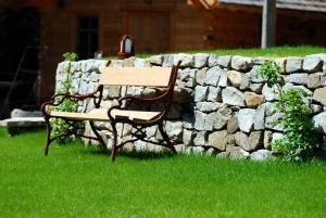 Vonkajšia záhrada v ubytovaní Chalet Ur-Gmiatli