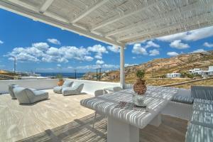 A balcony or terrace at Senses Luxury Villas & Suites