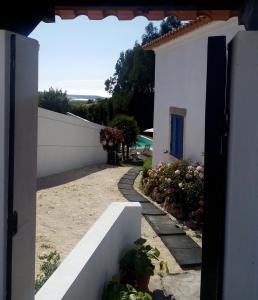 A balcony or terrace at A Casa Dos Avós