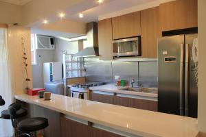 A kitchen or kitchenette at Luxurious Apartment in Palermo Buenos Aires