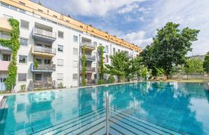 The swimming pool at or near IG City Apartments OrchideenPark