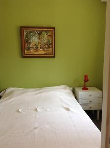 A bed or beds in a room at Apartment Descamps
