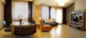 O zonă de relaxare la Summerland Serviced Apartments Mamaia
