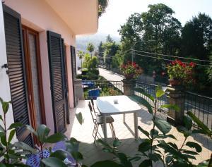 Balcone o terrazza di Apartment La Gatta Viola