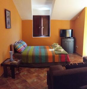 Postel nebo postele na pokoji v ubytování Studio Forum