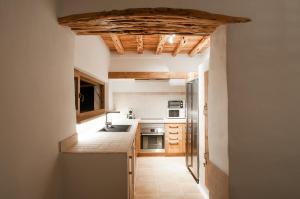 A kitchen or kitchenette at Ibiza Holliday Villa Harmony