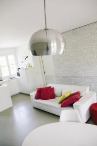 Area soggiorno di Natural Home Apartment