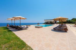 The swimming pool at or near Villa Pasithea Suites