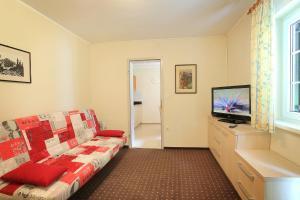 Predel za sedenje v nastanitvi Premium Apartment in Village Lipa