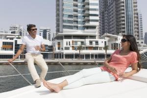 Guests staying at La Verda Suites and Villas Dubai Marina