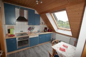 Küche/Küchenzeile in der Unterkunft Business Apartment