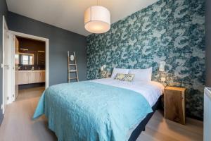Ein Bett oder Betten in einem Zimmer der Unterkunft Smartflats Design - Cathédrale