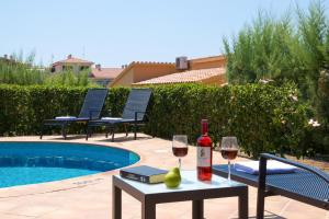 The swimming pool at or near Villas Menorca Sur