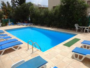The swimming pool at or near Panklitos Tourist Apartments