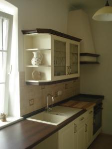 A kitchen or kitchenette at Landhaus Ferk