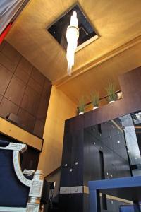 The lobby or reception area at Eurovea Apartments