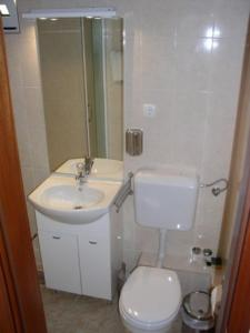 Koupelna v ubytování Villa Maja