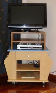 A television and/or entertainment center at The Slope