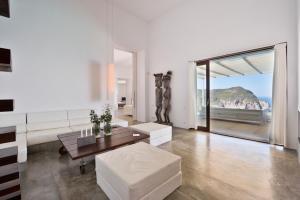 A seating area at thesuites Ibiza Na Xemena