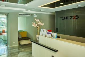 Лобби или стойка регистрации в The Chezz Central Condo by MyPattayaStay